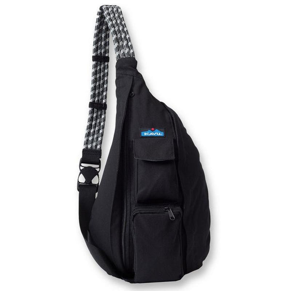 kavu rope sling bag black