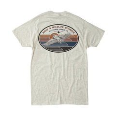 Hippy Tree Wingtip Tee Natural