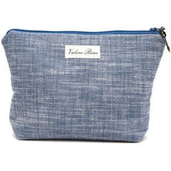 Chambray Medium Makeup Bag