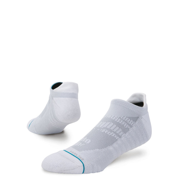 stance socks uncommon solid training white
