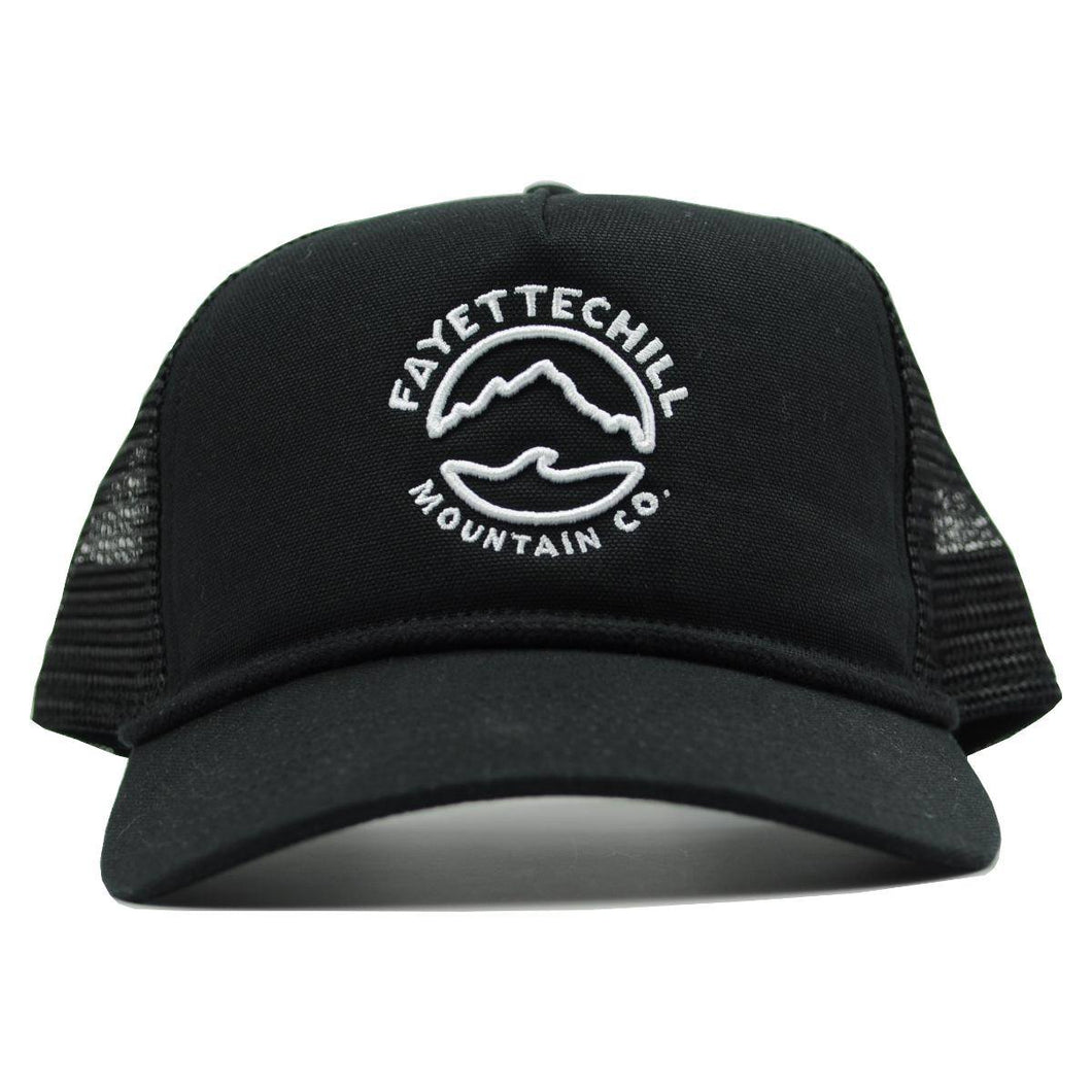 fayettechill mountain tide trucker black