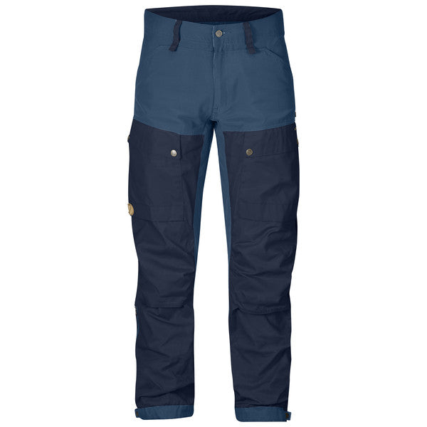 fjallraven keb hiking pants dark navy