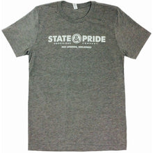 State & Pride Logo Tee Front