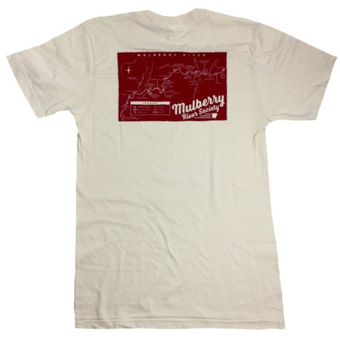 mulberry river t-shirt back