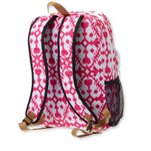 kavu field trip backpack pink blot back