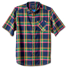 KAVU Button Up Short Sleeve - Solstice Indigo