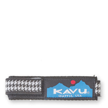 kavu watchband houndstooth
