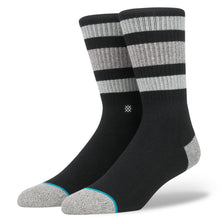 stance socks boyd 3 men's crew black