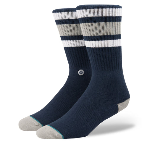 stance socks boyd 3 men's crew navy