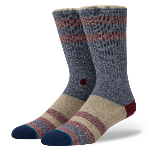 mens stance socks stacy blue