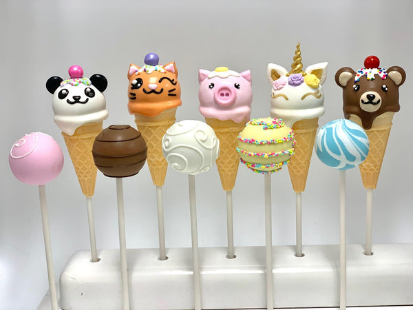 Animal Cone Set (10 cake pops)