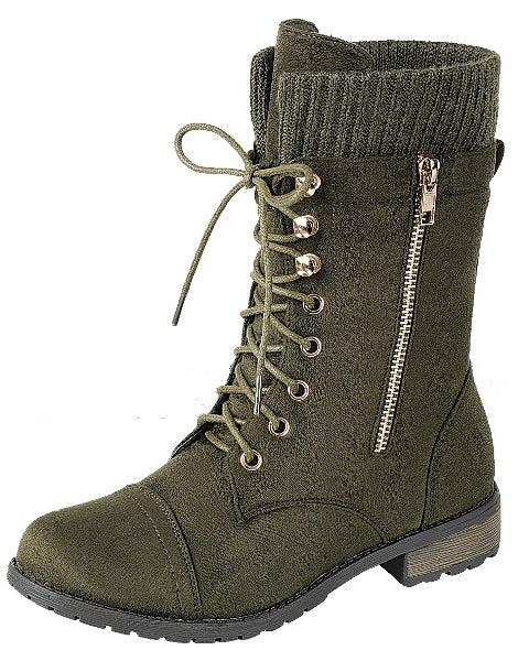 Hunter Combat Boots (Mommy Diva's)