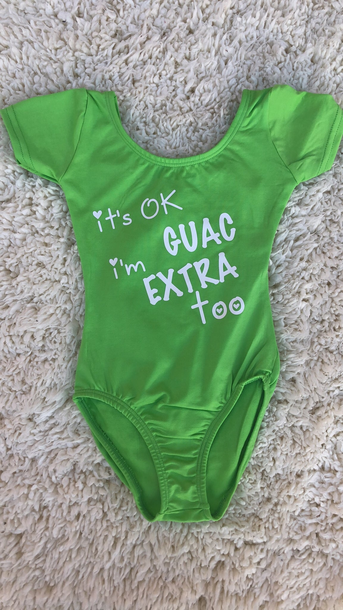 **NEW** Extra Guac Leotard