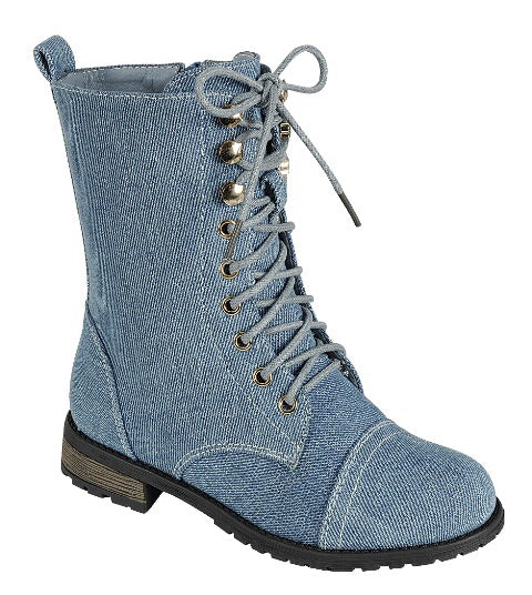 **NEW** Alea Combat Boots (Little Diva's)