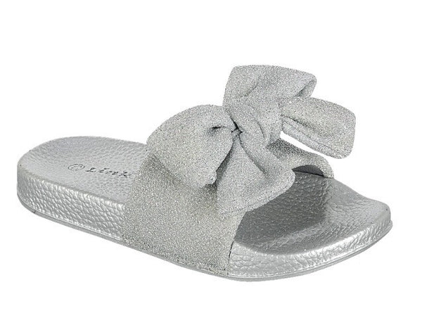 Metallic Sparkle Slides (Little Diva's)