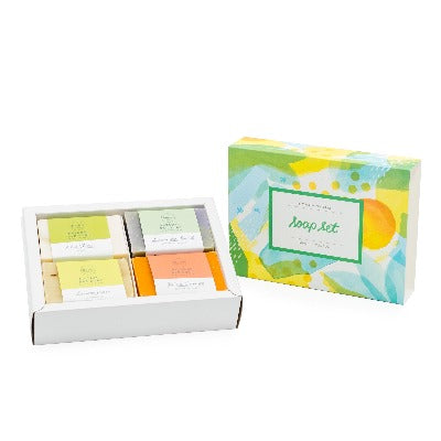 Four Soap Gift Set - Cocoa Spa Boutique