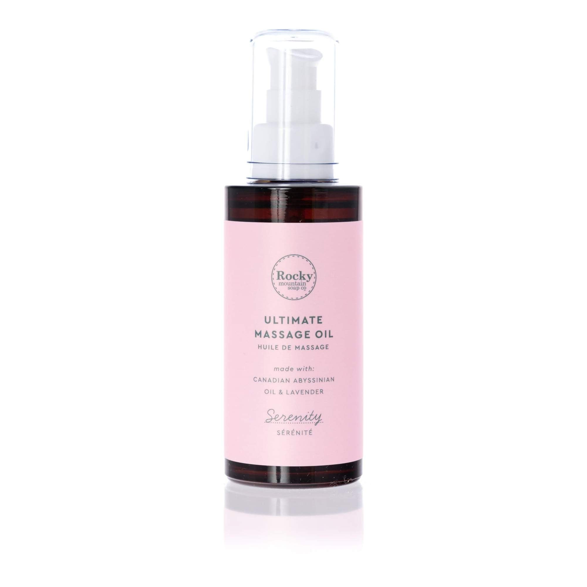 Serenity Ultimate Massage Oil - Cocoa Spa Boutique
