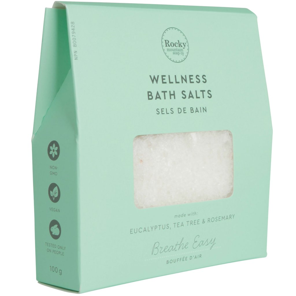 Breathe Easy Bath Salts - Cocoa Spa Boutique