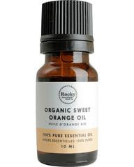 Organic Sweet Orange Essential Oil - Cocoa Spa Boutique