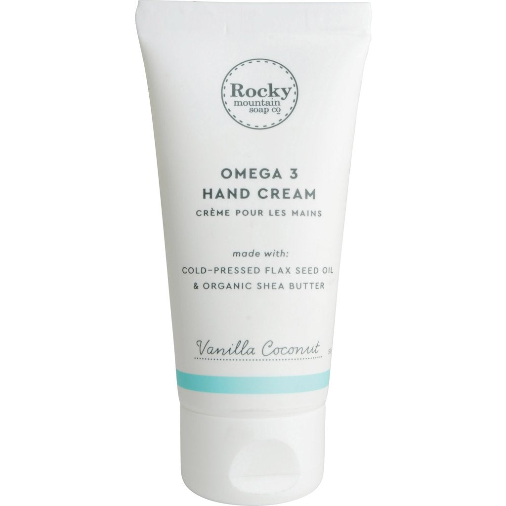 Vanilla Coconut Natural Hand Cream - Cocoa Spa Boutique