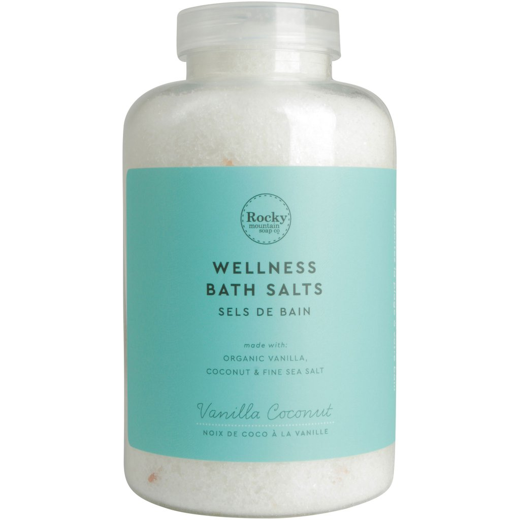 Vanilla Coconut Wellness Bath Salts - Cocoa Spa Boutique