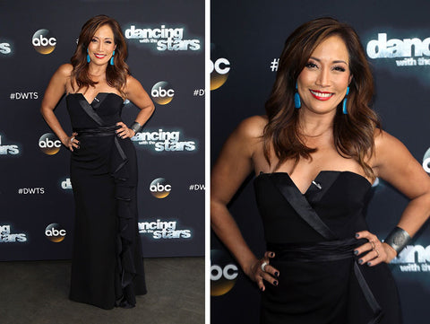 Carrie Ann Inaba wears Andi Alyse.