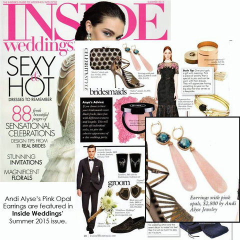 Andi Alyse Inside Weddings Summer 2015
