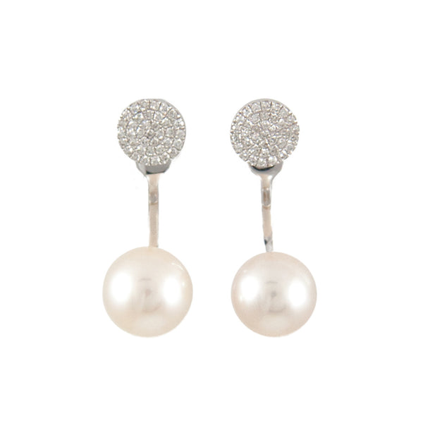Darling Dot Pearl Earrings