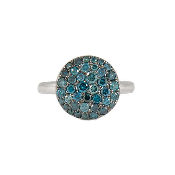 Andi Alyse Jewelry - Pebble Ring - Blue Diamonds