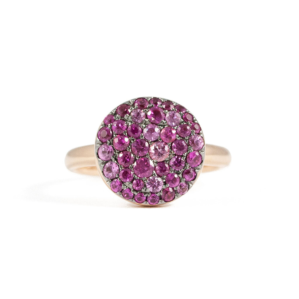 Andi Alyse Pink Sapphire Pebble Ring