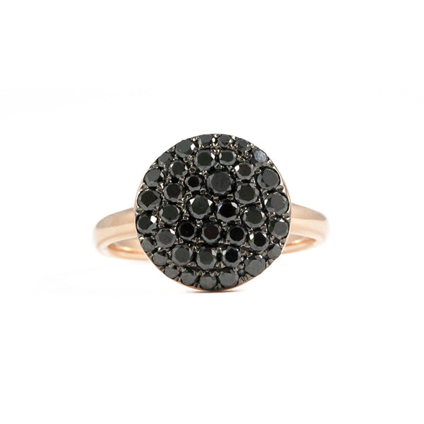 Andi Alyse Black Diamond Pebble Ring