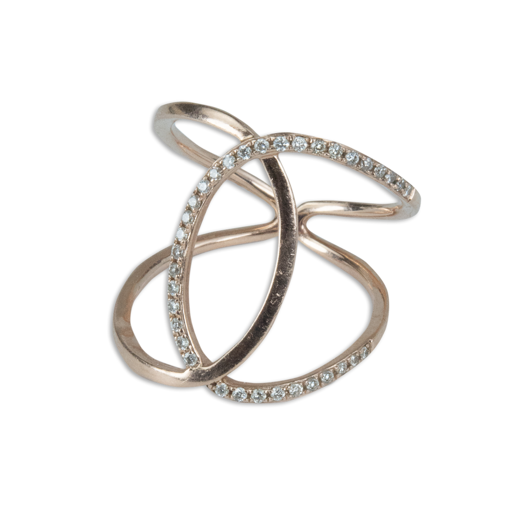 Interlocking Oval Ring