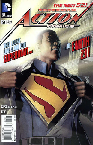 Spec Alert: Final Crisis #7 and Action Comics #9