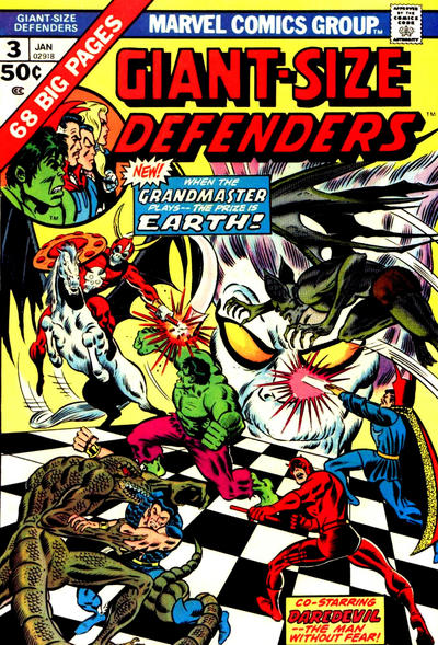Hot Comic Alert: Giant-Size Defenders #3