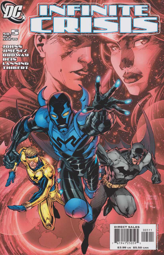 Spec Alert: Infinite Crisis #3-5 and the Blue Beetle Movie