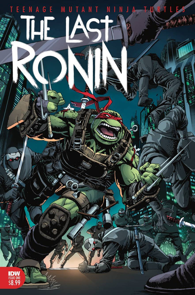 Frankie's Reviews: Last Ronin is Proving to be Eastman and Laird's Dark Knight Returns