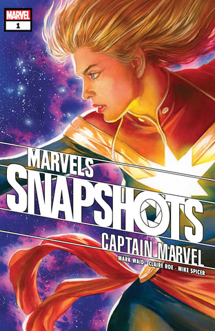 Frankie's Reviews: Captain Marvel: Marvel Snapshots #1 by Angela Rairden