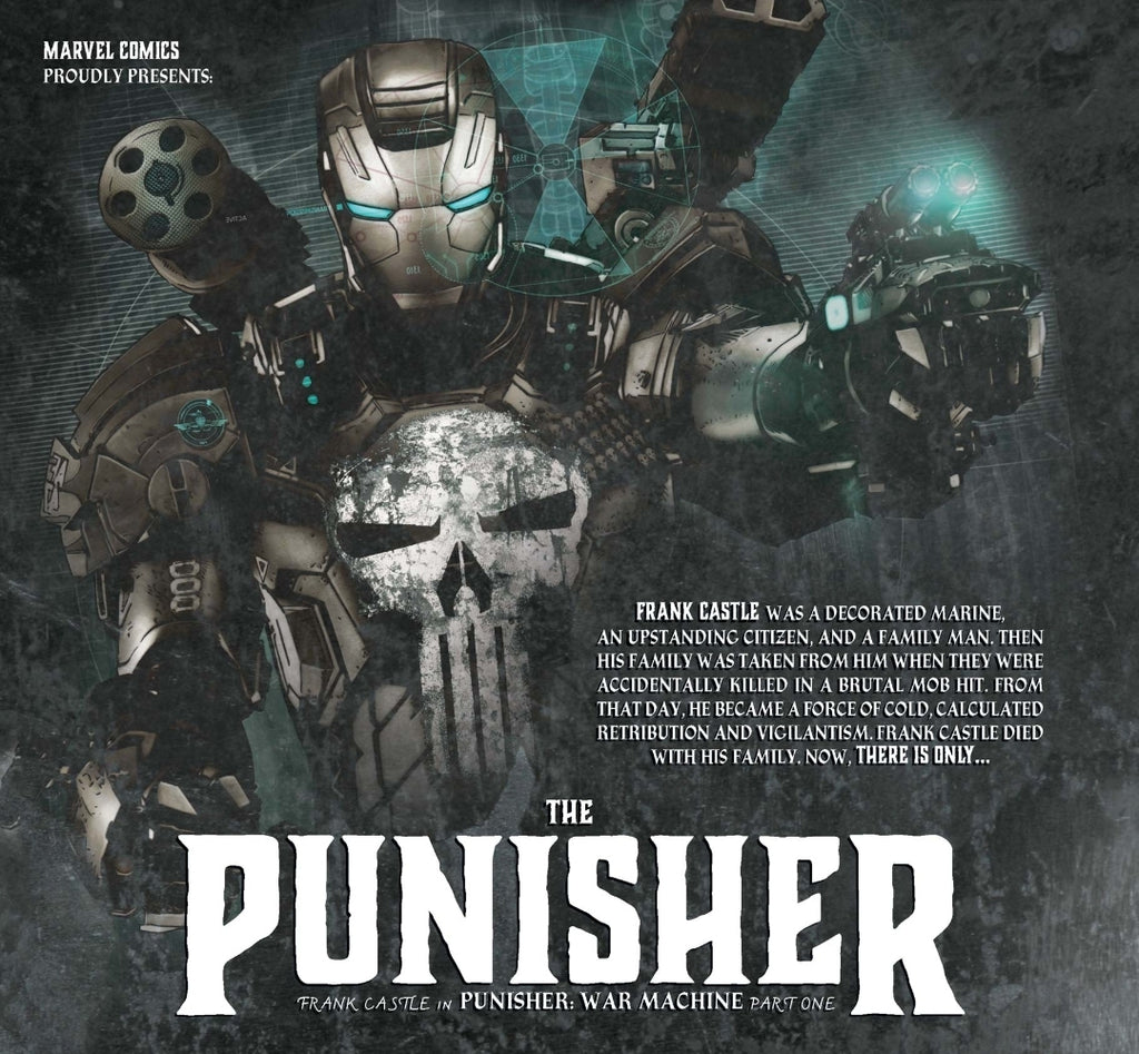 The Punisher to Suit Up for Armor Wars?