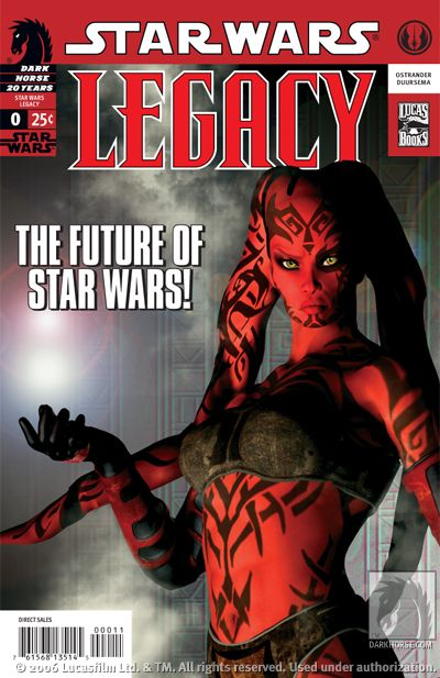 Hot Comic Alert: Star Wars: Legacy #0 & #1