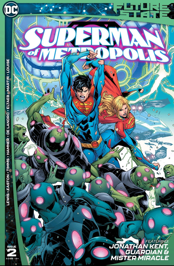 Frankie's Reviews: Future State: Superman of Metropolis #2