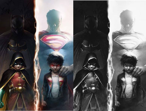 SUPER SONS #1 FRANCESCO MATTINA EXCLUSIVE VARIANT COLOR & BW