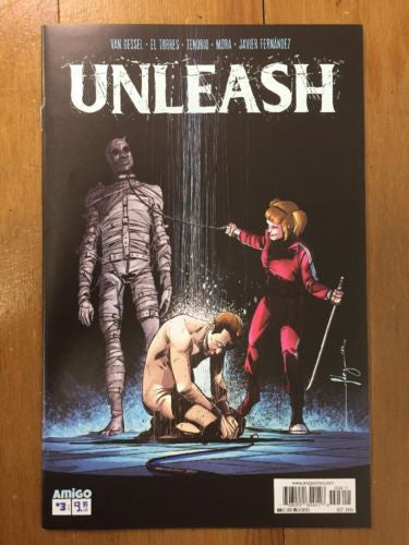 Unleash #3 Amigo Comics