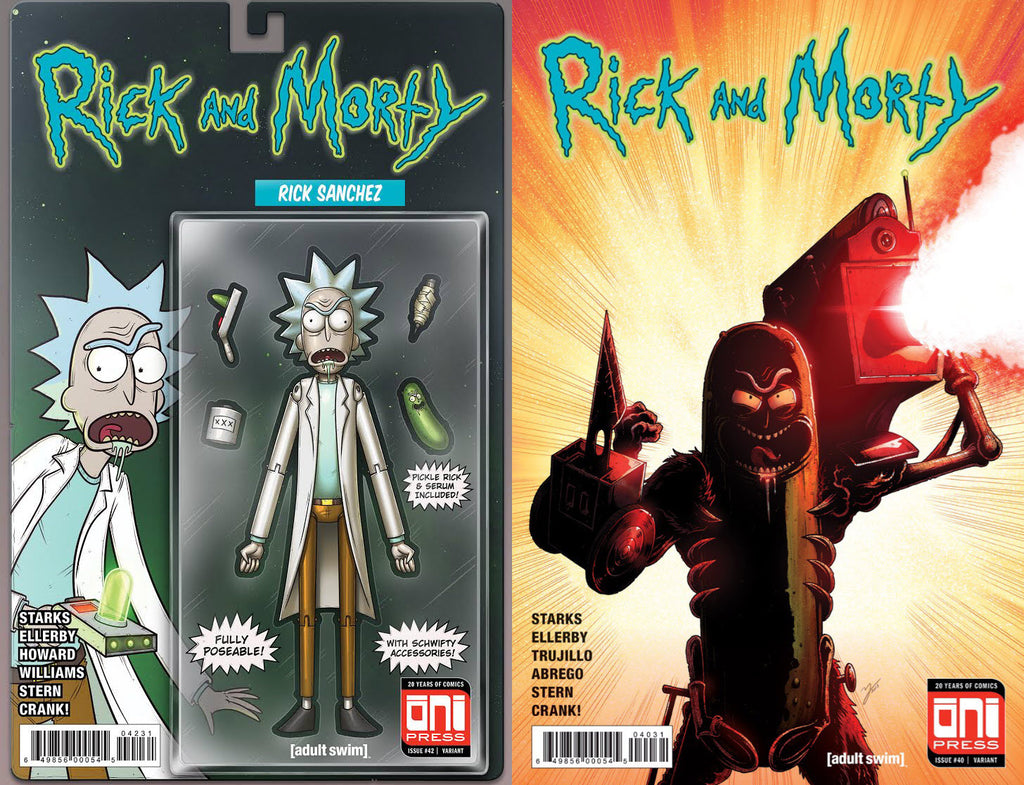 Rick and Morty #42 Action Figure Set