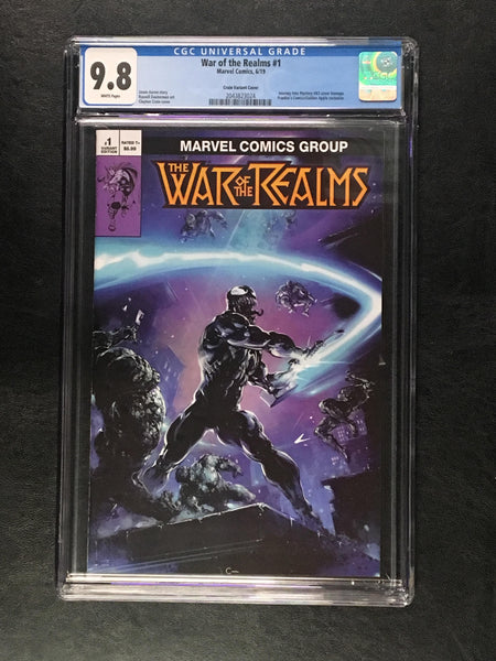 War of the Realm #1 CGC