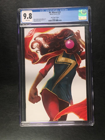 Ms. Marvel #31 Virgin CGC
