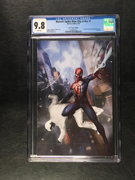 Spider-Man City at War #1 CGC