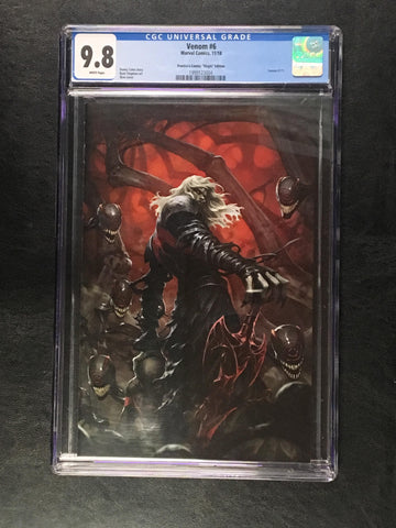 Venom #6 Skan Virgin CGC