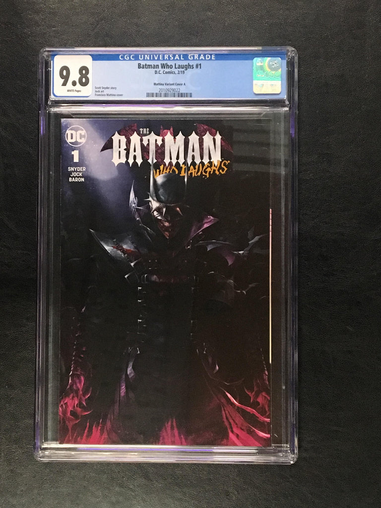 Batman Who Laughs #1 CGC