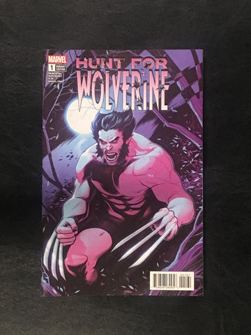 Hunt for Wolverine #1 Ratios