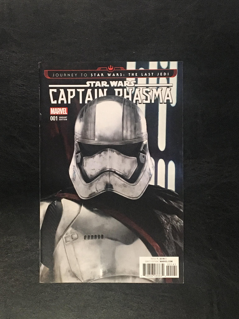 Star Wars: Captain Phasma #1 Ratios